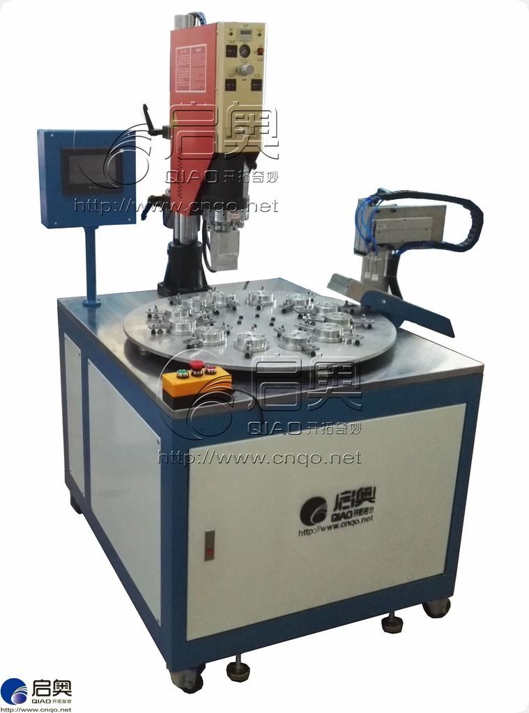 automatic ultrasonic plastic welding machine shenzhen qiaoautomatic ultrasonic plastic welding machine