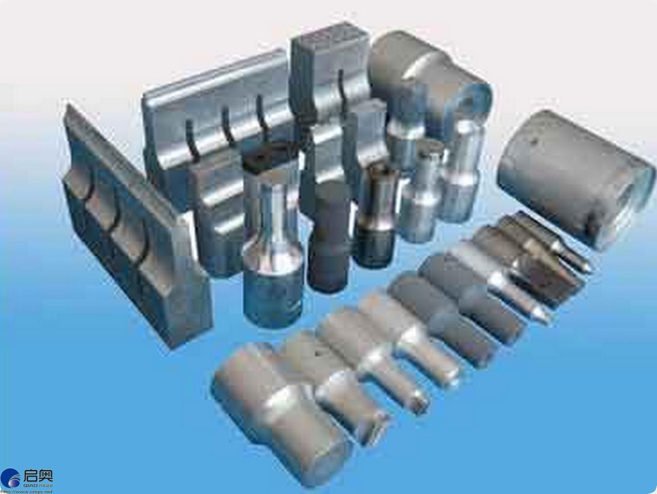 Ultrasonic machine mould