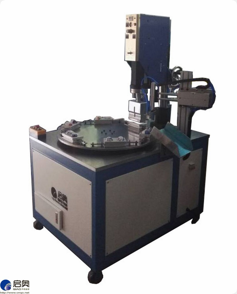 Multi-station Automatic Round turntable ultrasonic welder