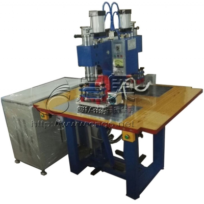 Double switch control double-end high frequency welder