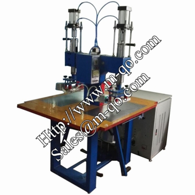 Straight pressure style double head high frequency welding machine