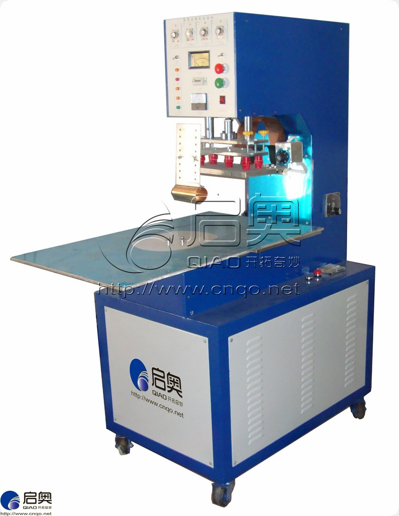 Manual turntable high frequency welding machine
