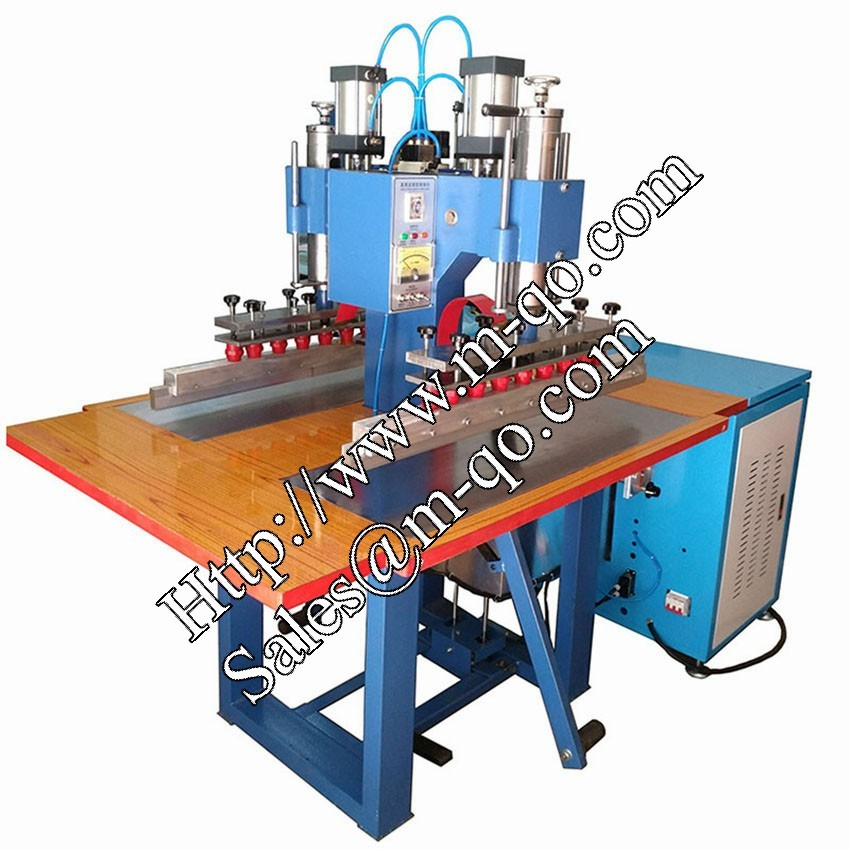 Extended Type Double Head High Frequency PVC Tarpaulin Welding Machine for Tent