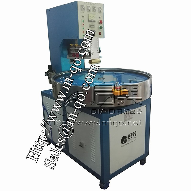 Automatic turntable blister packing machine