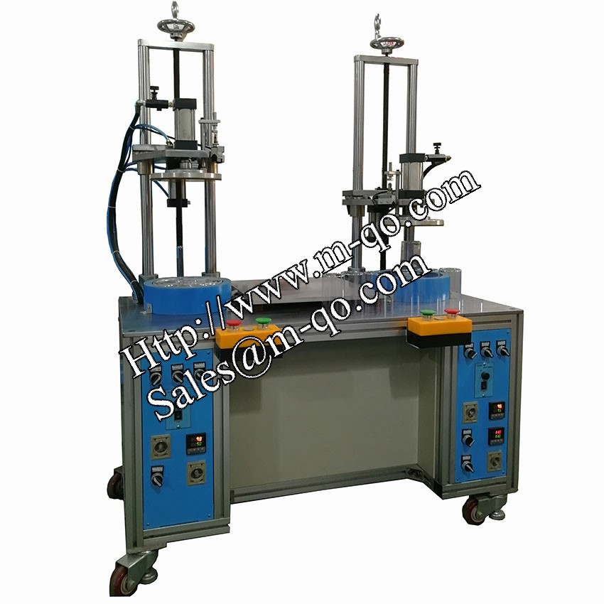 Double head Cylinder tube curling machine