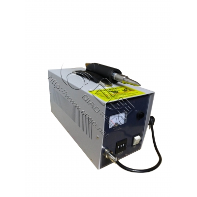 Portable ultrasonic spot welder