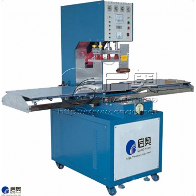Manual push disc high frequency welding machine