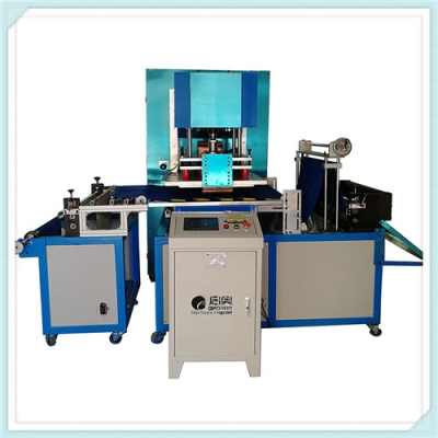 High power automatic drawing high frequency welding machine