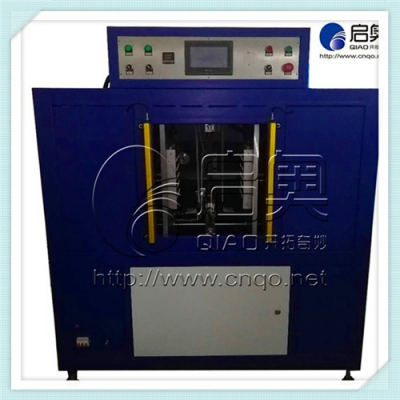 Horizontal hot plate welding machine